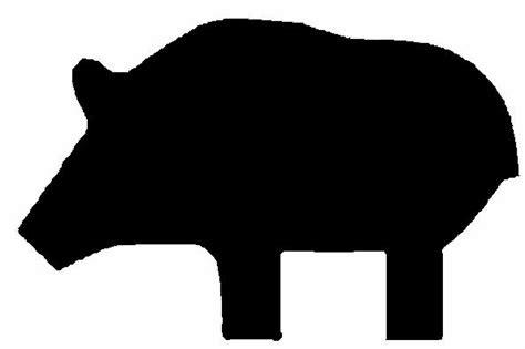 printable pig targets target templates