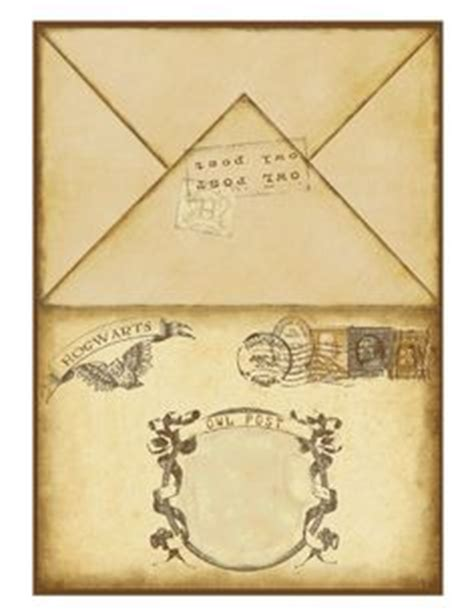 Harry Potter Acceptance Letter Envelope Printable 1000 Images About Harry Potter On Harry Potter Harry Potter Birthday And