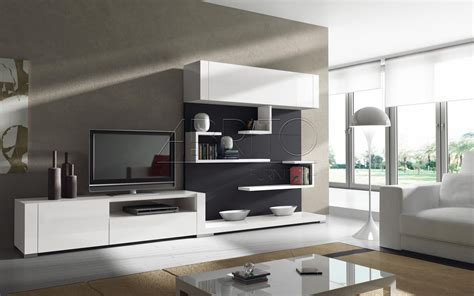 Modern Wall Unit Designs For Living Room Modern Tv Feature Wall Design Mesmerizing Contemporary