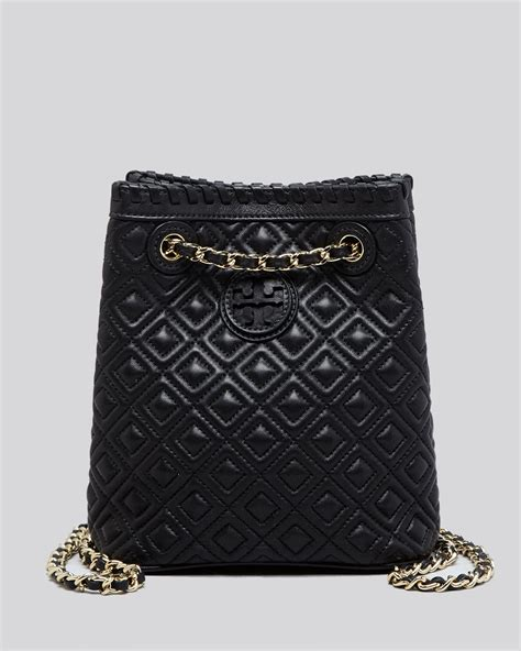burch backpack marion quilted small in black lyst