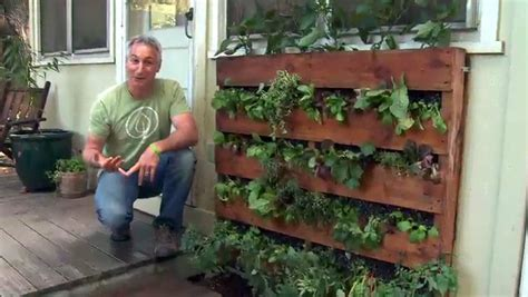 creating  pallet garden step  step instructions