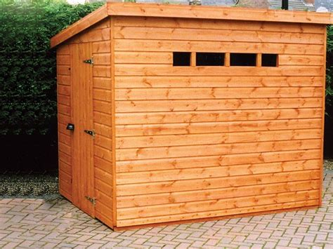 Shed Pent by Wooden Garden Sheds Security Pent Garden Shed Pennine