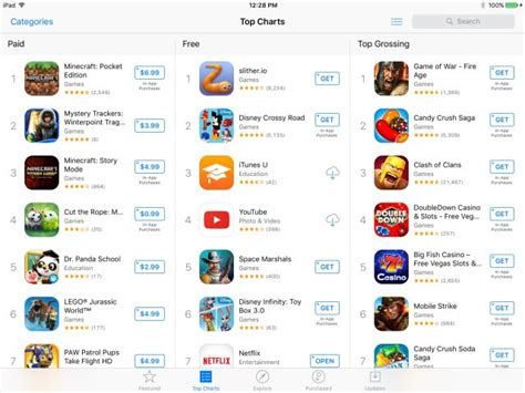 mobile app store apple report apple considering a paid search model for the app