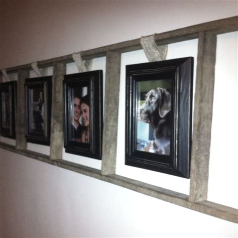 picture frames hanging picture frames height hanging 1000 ideas about old ladder decor on pinterest old