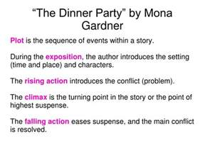 ppt the dinner party by mona gardner powerpoint