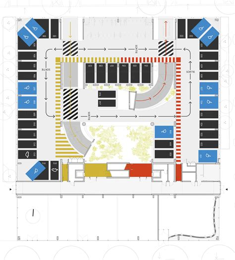 Underground Floor Plans galer 237 a de edificio de estacionamientos en grenoble gap