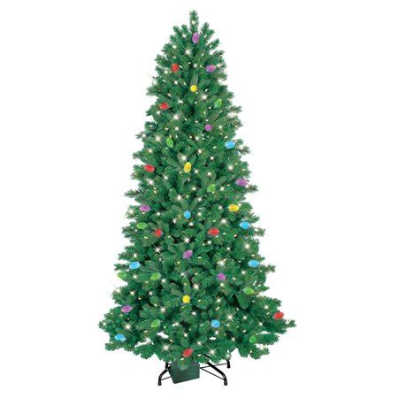 ge pre lit tree troubleshooting ge itwinkle pre lit 7 5 led artificial tree clear lights walmart
