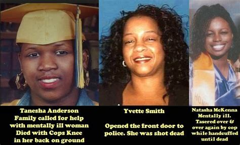 names of black women killed by police in 2015 black chick a little rocked april 2015