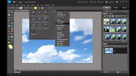 vector photoshop elements tutorial photoshop elements adding shapes to pictures lynda com