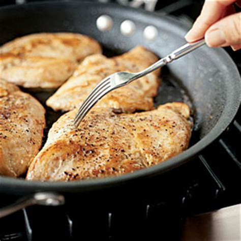 how to saute chicken cooking light