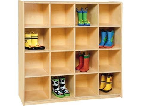 wooden preschool cubby storage  cubbies pre