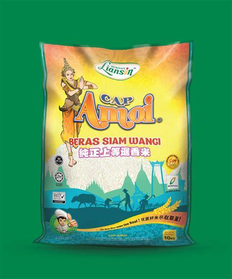 Beras Ramos Cap Bunga 5kg liansin cap amoi beras siam wangi 5kg aigogo supermarket