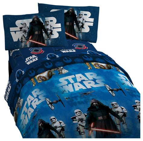 star wars bed set twin star wars 7 twin bedding set force awakens comforter