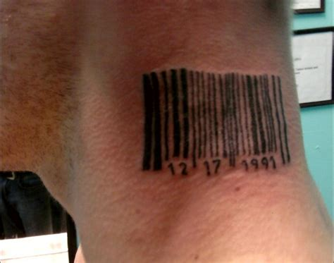 barcode tattoo design barcode tattoos designs ideas and meaning tattoos for you