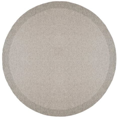 7 foot area rugs tayse rugs serenity gray 7 ft 6 in x 7 ft 6 in area rug srn1009 8rnd the home depot