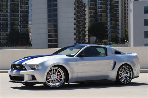 need for speed casts mustang in car w
