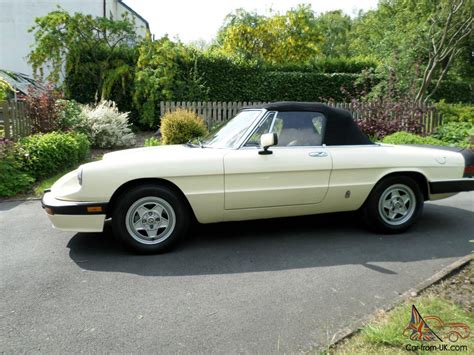 Alfa Romeo On Ebay by 105 Alfa Romeo Spider Alfa Romeo Parts For Sale On Ebay