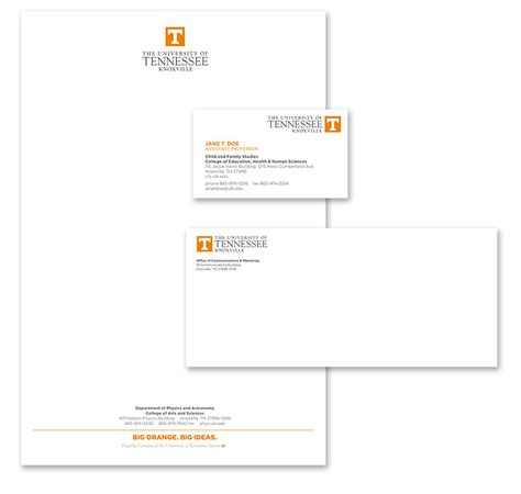 Georgian College Letterhead Business Cards Letterhead Envelopes Brand Guidelines