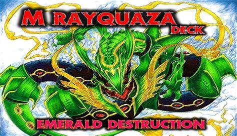 rayquaza deck pok 233 mon tcg mega rayquaza deck profile exhibition