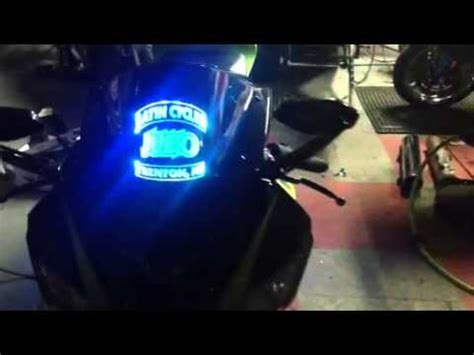light up motorcycle motorcycle multicolor led light kit and light up