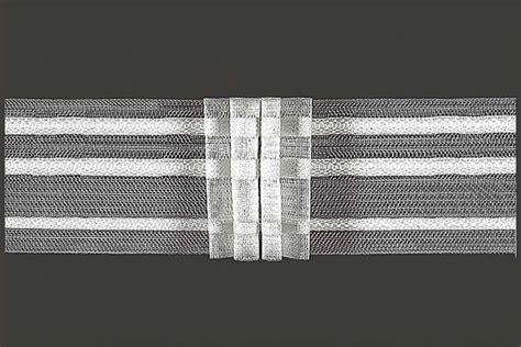 gardinenband falten ziehen gardinenband 3er falte 2 5 fache stoffmenge 50 mm