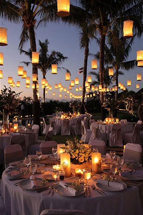 Backyard Wedding Lanterns 23 Ways To Transform Your Wedding From Bland To Mind Blowing