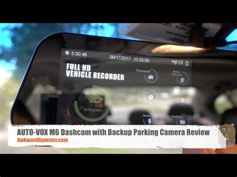 Vox Auto by Auto Vox M6 Dashcam With Backup Parking Review