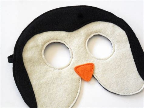 printable penguin face mask template 44 best images about costume ideas on pinterest wings