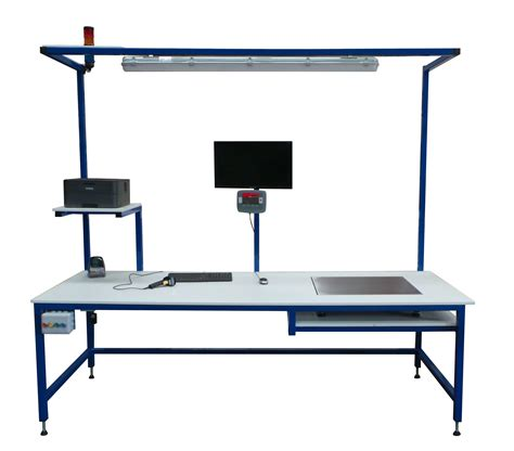 packing bench bench mounted platform scales packing tables by spaceguard