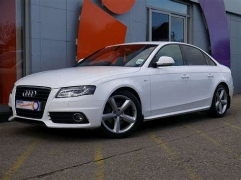 2008 audi a4 s line for sale 2008 audi a4 s line 2 0tdi 143 saloon white for sale in