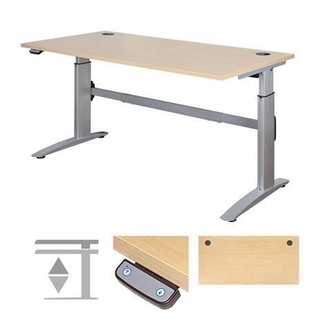 height adjust desk posturite deskrite 300 sit stand writing desk