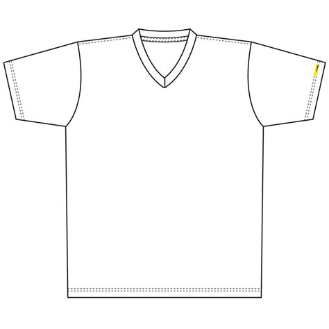 v neck t shirt template clipart best