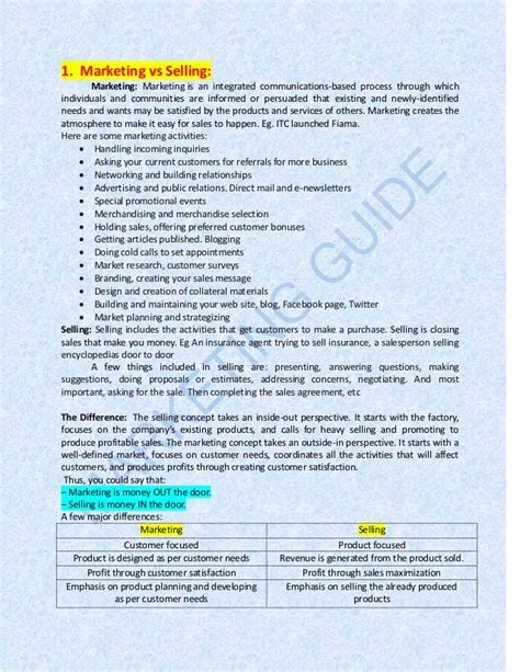 Marketing Activities For Mba Students by Marketing Guide For Mba Students Fms Delhi