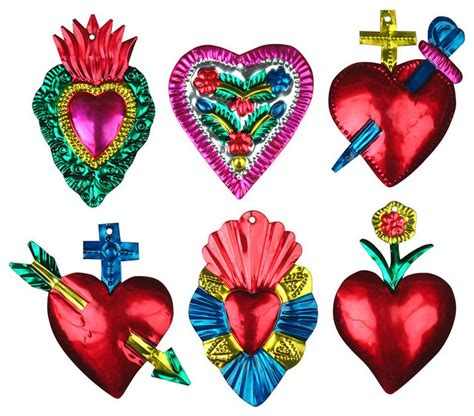 mexican tin ornaments crafts