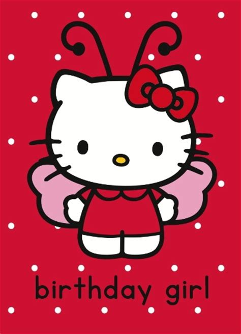 hello kitty printable greeting cards happy birthday wishes with hello kitty page 2