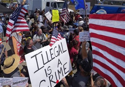 Criminal Record For Immigration 244 Immigrants With Criminal Records Arrested In California In Four Days Washington