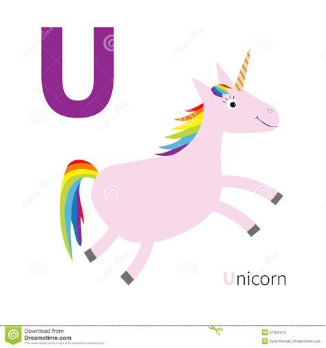 animal alphabet u education animal alphabet animal letter u unicorn zoo alphabet abc with animals