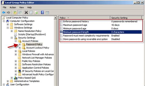 windows 2008 r2 password reset change password policy on windows server 2008 r2
