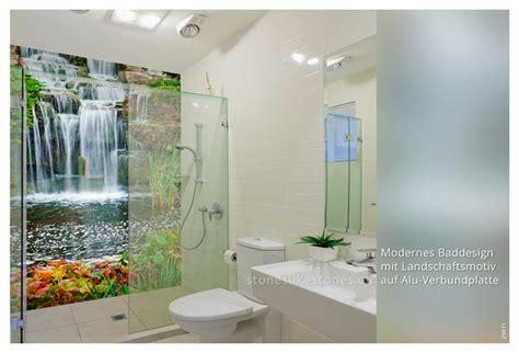 paneele bad bedruckte dibond paneele im bad