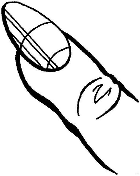 the gallery for gt finger coloring pages