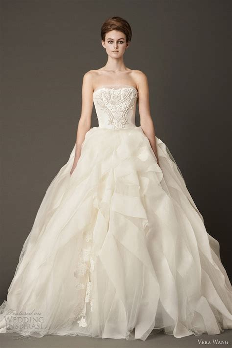 vera wedding dresses fall 2013 wedding inspirasi