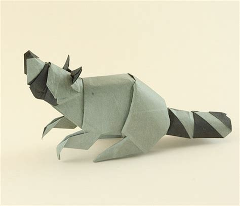 Origami Raccoon - origami animals