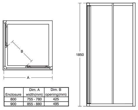 Standard Shower Door Width Ideal Standard Connect 900mm Corner Entry Shower Enclosure