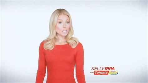 kelly ripa colgate commercial colgate total adavanced pro shield mouthwash tv commercial