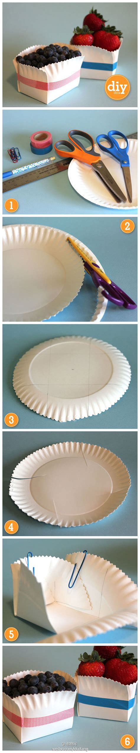Things To Make Out Of Paper Plates - would a basket make organizing things a lot easier see