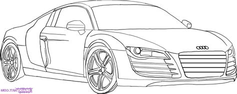 how to draw an audi r8 drawingforall net car audi r8 pencil and in color car audi r8