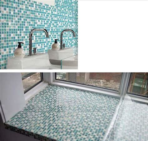 blue mosaic tile backsplash crackle glass mosaic tile backsplash blue mosaic stone