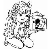 Desenhos De Meninas Bonitas Para Colorir Imagens Lindas
