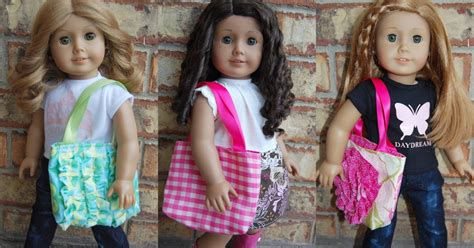 doll tote bag pattern dream dress play scrap saver 18 quot doll stylish tote