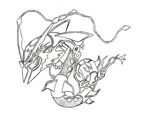 legendary pokemon coloring pages rayquaza legendary pokemon mega rayquaza coloring pages cartoon